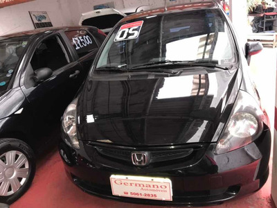 Honda Fit 1.4 Lx Preto 05/05