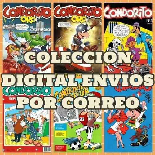 Imagen 1 de 4 de Condorito  Coleccion Completa Digital