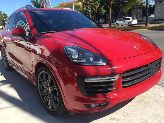 Porsche Cayenne Gts 2016 Rojo