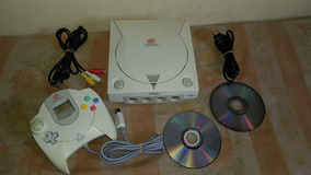 Dreamcast Japonês Funcionando 100% Com 2 Jogos Paralelos A9