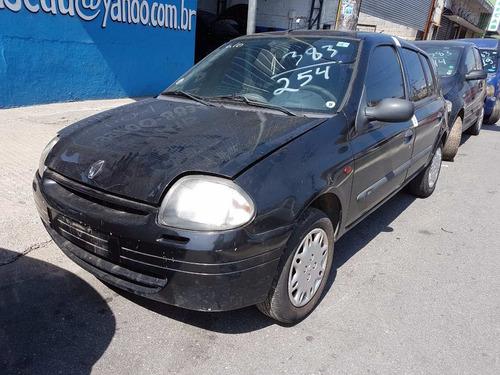 Sucata Renault Clio Rn 1.0 16v 2001 (somente Peças)