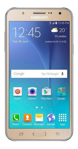 Imagem 1 de 4 de Usado: Samsung Galaxy J7 Dourado Bom C/nf E Garantia