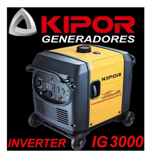 Asesoramiento Generador Kipor Ig3000 Inverter T/ Honda Eu 30