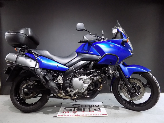 Suzuki Vstrom650 Azul 2014