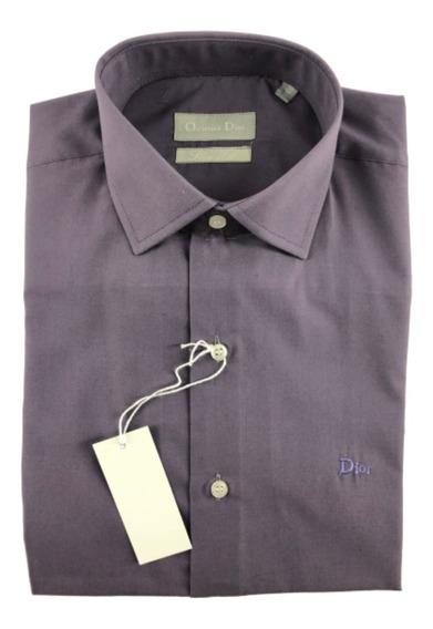 Camisa * Christian Dior* M/ Larga Vestir Entallada O Clasica