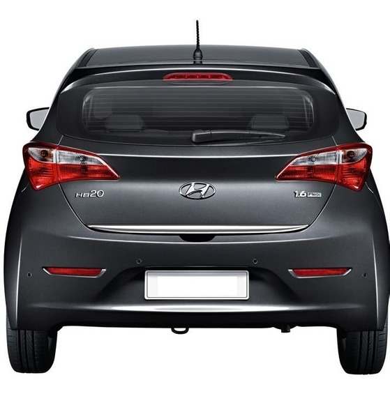 Friso Cromado Resinado Traseiro Porta Malas Hyundai Hb20