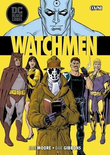 Watchmen - Dc Black Labels - Alan Moore - Ovni Press