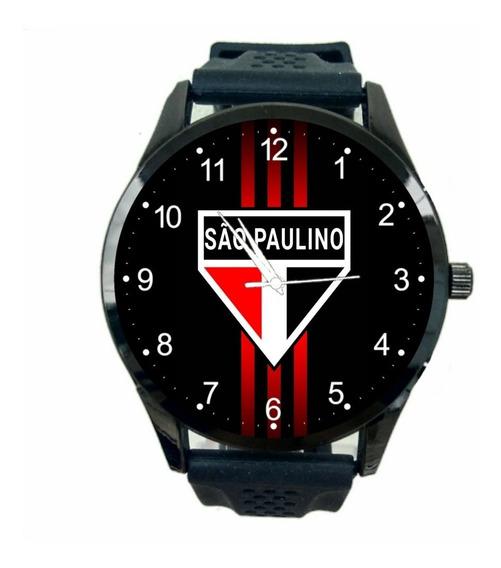 Relógio São Paulo Unissex Futebol Esporte Time Fc Novo T1088
