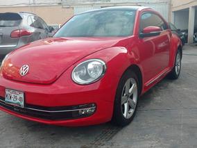 Volkswagen Beetle 2016 Sporline 2.5 Cd ,piel ,qcp ,rines