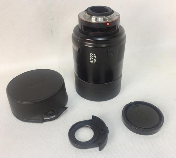 Lente Sony 8/500 Reflex - Excelente Estado - 500 Mm / F: 8