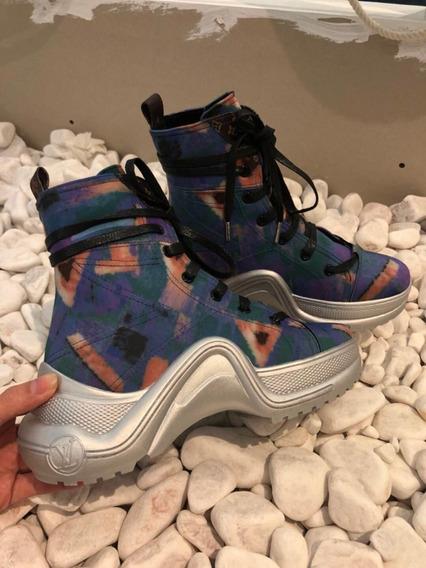 Tênis Louis Vuitton Sneaker Archlight 04