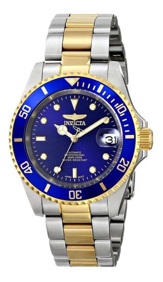 Invicta 8928ob Pro Diver Reloj Automático Baño De Oro 23k