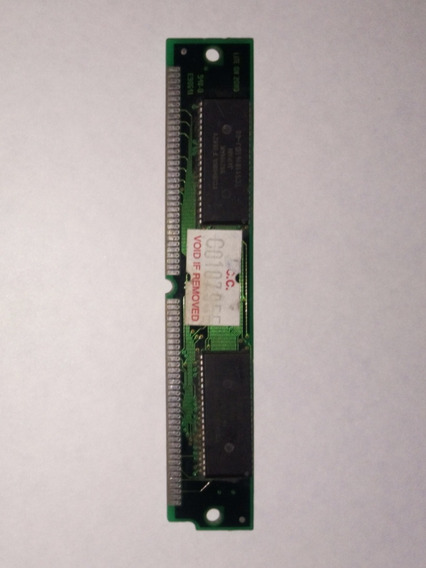 Memoria Ram Simm 4 Mb - 72 Pines