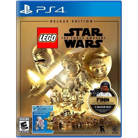 Lego Star Wars: Force Awakens Deluxe Edition + Lego Fin Novo