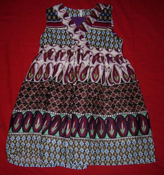 Vestido Niña Importado Talle 4