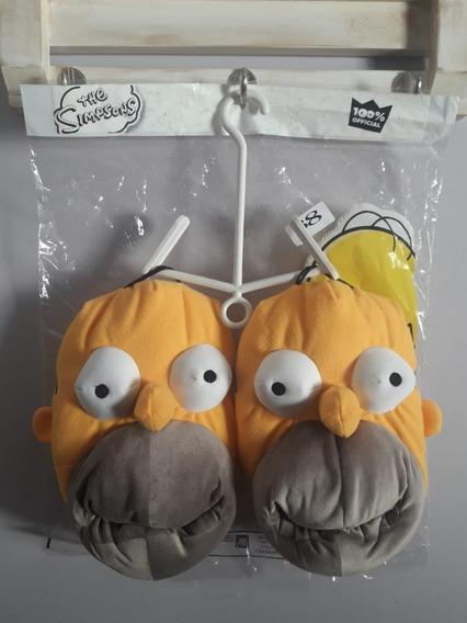 Pantuflas De Homero Simpson 100% Licencia Oficial Fox