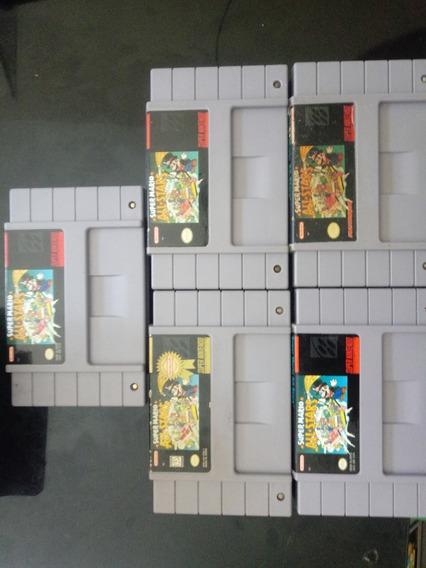 Super Mario All Stars Americano Original!! 100 Cada