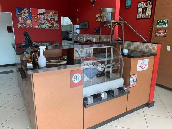Ponto Comercial No Centro - Cafeteria Montada - Mogi Das Cruzes - 90 M² - Pt0021