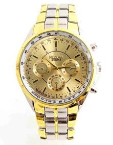 Relógio Rosra Golden