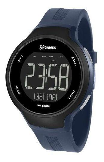 Relógio X-games Xmppd555 Pxdx Masculino Azul