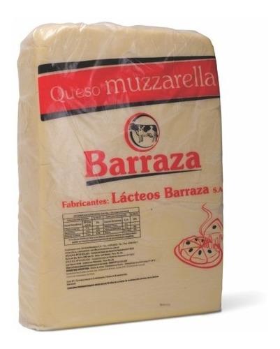 Muzzarella Barraza Plancha De 20 Kilos