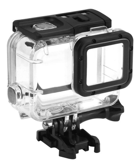 Caixa Estanque Gopro Hero 5 6 7 Black Tampa Touch Go Pro