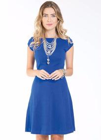 Lindíssimo Vestido Azul Para Batizado