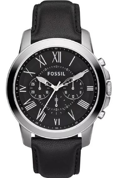 Relógio Fossil Masculino Cronógrafo Fs4812/0pn