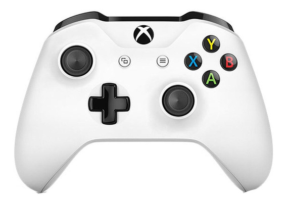 Controle joystick Microsoft Xbox One Controller + Cable for Windows branco