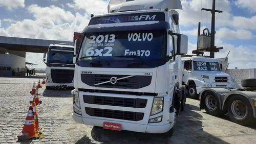 Imagem 1 de 12 de Cavalo 6x2 Teto Alto Completo Automatico Volvo Fm370 Trucado
