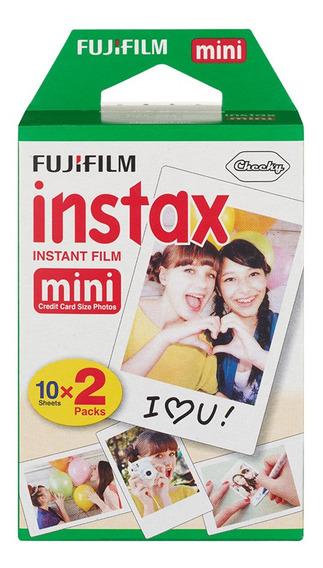 20 Folhas Fujifilm Instax Mini Filme Instantaneo Instax