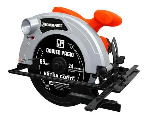 Sierra circular eléctrica Dowen Pagio SC190SP 185mm 1500W naranja 220V
