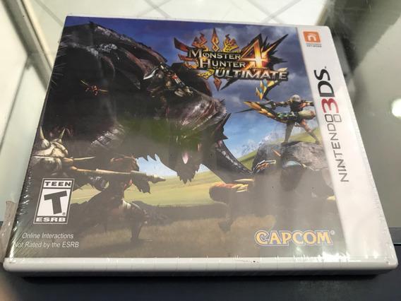 Monster Hunter Ultimate 4 Lacrado Nintendo 3ds, 2ds