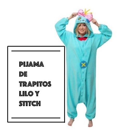 Scrump Pijama Kigurumi Trapitos Muñeca De Lilo & Stitch Xtr