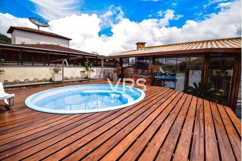 Cobertura Com 3 Dormitórios À Venda, 267 M² Por R$ 1.050.000,00 - Alto - Teresópolis/rj - Co0026