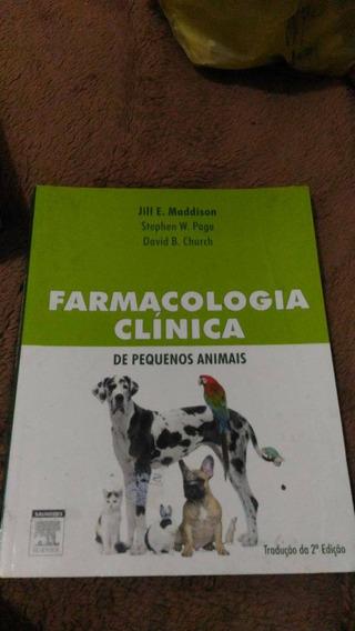 Livro - Farmacologia Clínica De Pequenos Animais