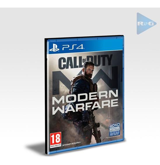 Call Of Duty Modern Warfare Ps4 Portugues Br