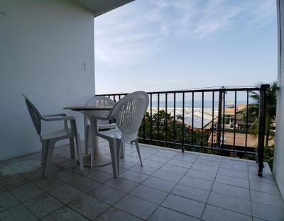 Guarujá Sp - Praia Das Pitangueiras - 4 Dormitórios - Frente Ao Mar - 1 Vaga - Lazer - Ap4616
