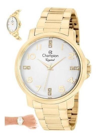 Relógio Feminino Champion Cn25565h - Super Promoção