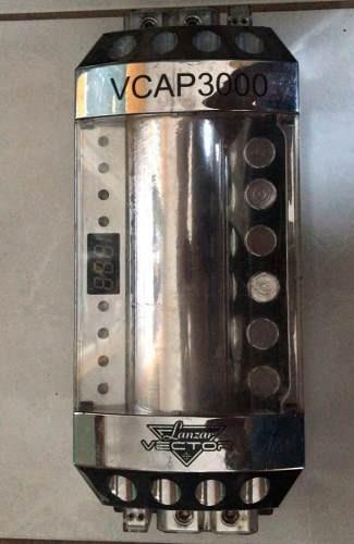 Capacitor Lanzar Vector 30 Farad Até 15.000 Rms De Som