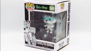 Funko Pop Rick And Morty 569 Exoskeleton Snowball Magic4ever