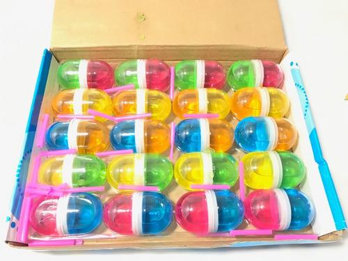 40 Capsulas Slime Crystal Fiesta Piñata Negocio Cumple