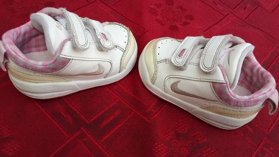 Zapatillas Nike Original N°18.5 Para Nena