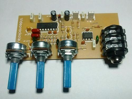Modulo Preamplificador Audio Pt2399 Eco Reverb + Delay