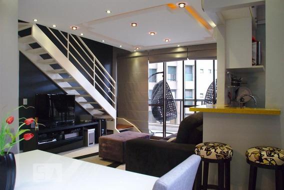 Apartamento No 6º Andar Mobiliado Com 2 Dormitórios E 1 Garagem - Id: 892990084 - 290084
