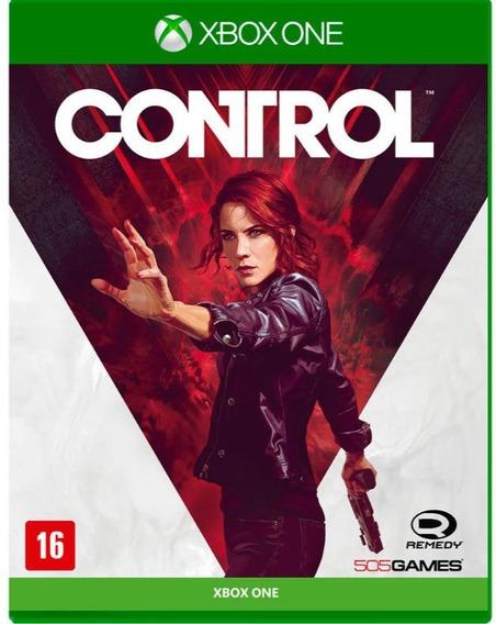 Control (mídia Física Leg Pt-br) - Xbox One (novo)