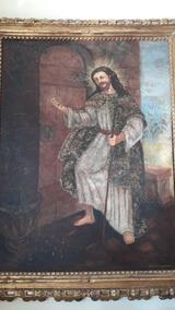 Quadro Cusquenho Jesus Bate Á Tua Porta Em 12 X S Juros