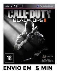 Call Of Duty Black Ops 2 Cod Ps3 Psn Envio Agora