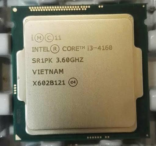 Processador Intel® Core I3 4160 3.60 Ghz 1150 (dou Desconto
