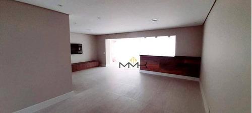 Apartamento Com 4 Dormitórios Em Santos - Gonzaga Vila Rica - Ap2143